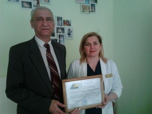 Керівник ТзОВ  «Медичний центр репродуктивного здоров'я Дамія»- Николин Леся Богданівна
