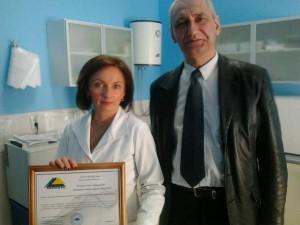 Керівник ТзОВ фірми «Асклепій» - Барна Леся Іванівна